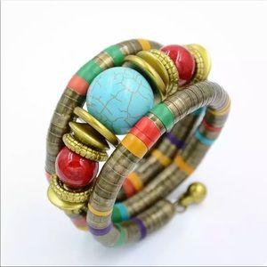 Boho Bracelet Brass